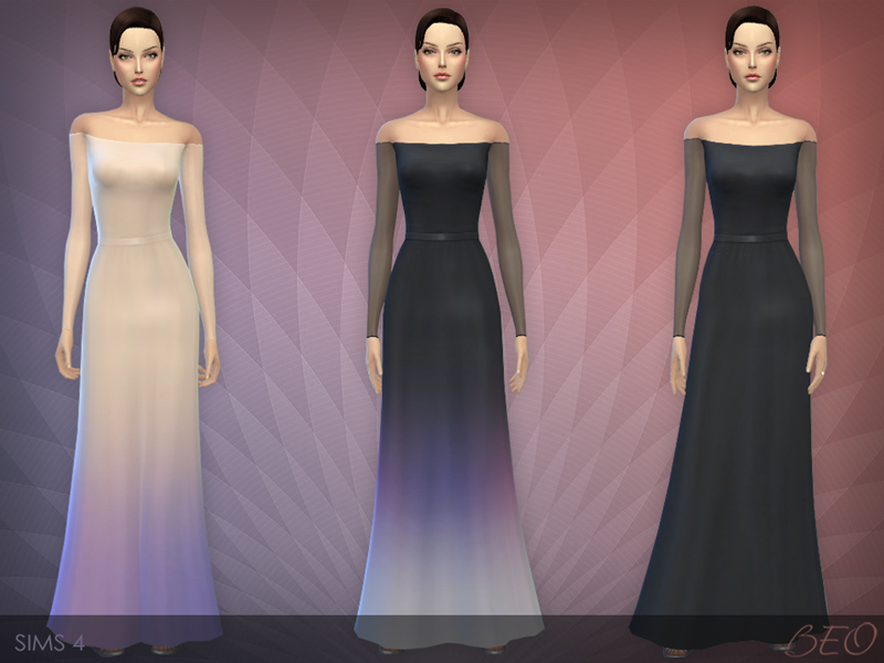 Dress 05 for The Sims 4 by BEO