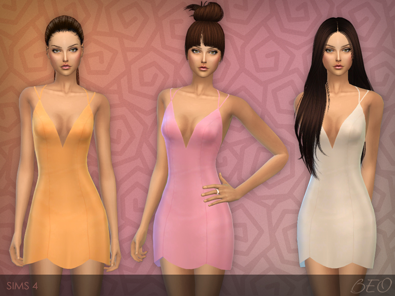 Little Dress for The Sims 4 by BEO