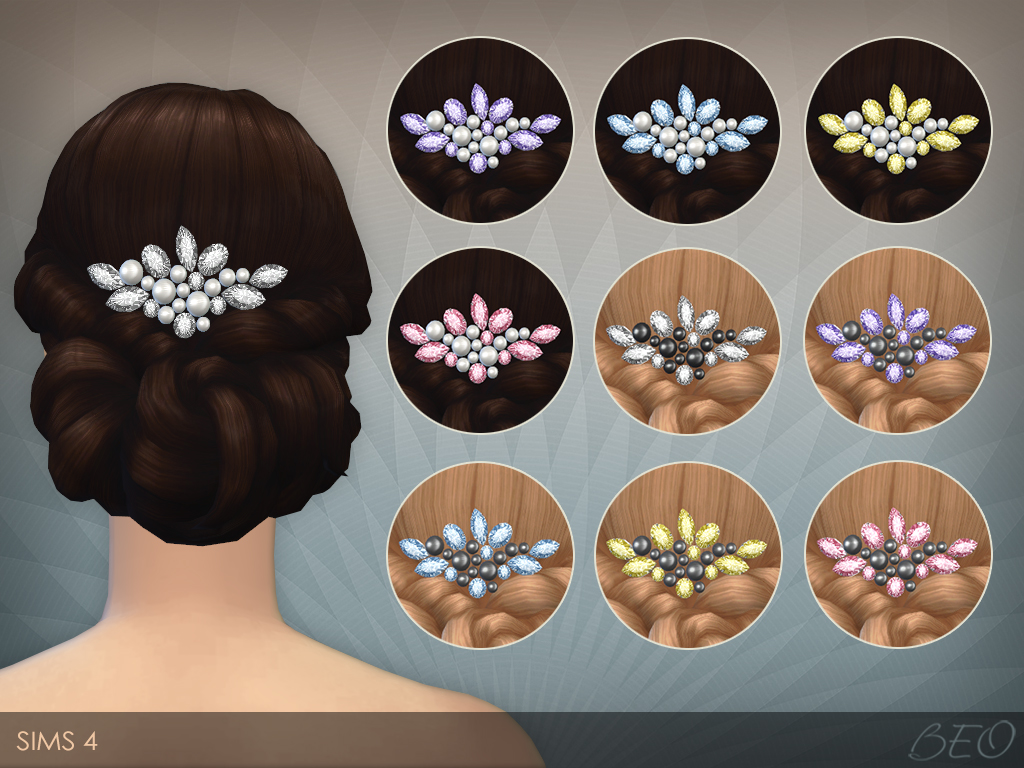 Pearls and crystals for The Sims 4 by BEO