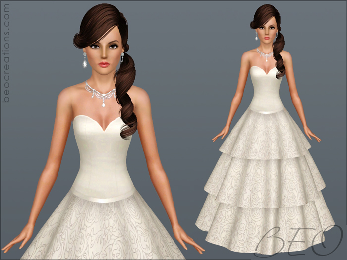 BEO CREATIONS: Wedding dress 21