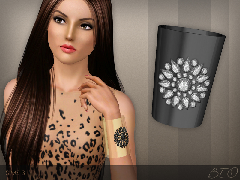 Cuff bracelet for The Sims 3 by BEO