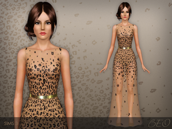 Dress 027 for The Sims 3 by BEO (1)