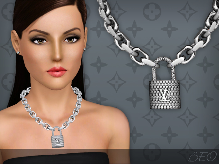 Lockit necklace for The Sims 3 by BEO