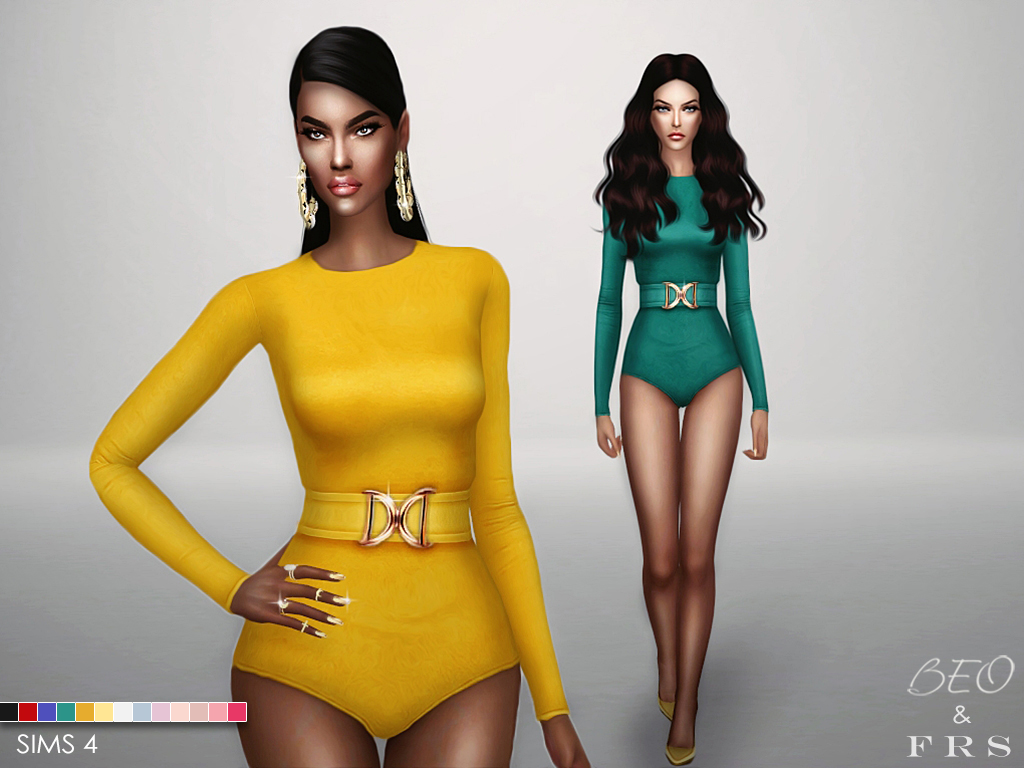 Balmain inspiration collection for The Sims 4 by BEO