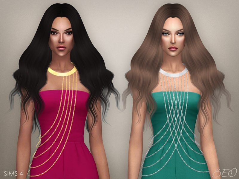 Body chains for The Sims 4 by BEO