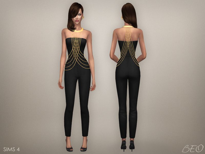Body chains for The Sims 4 by BEO (2)