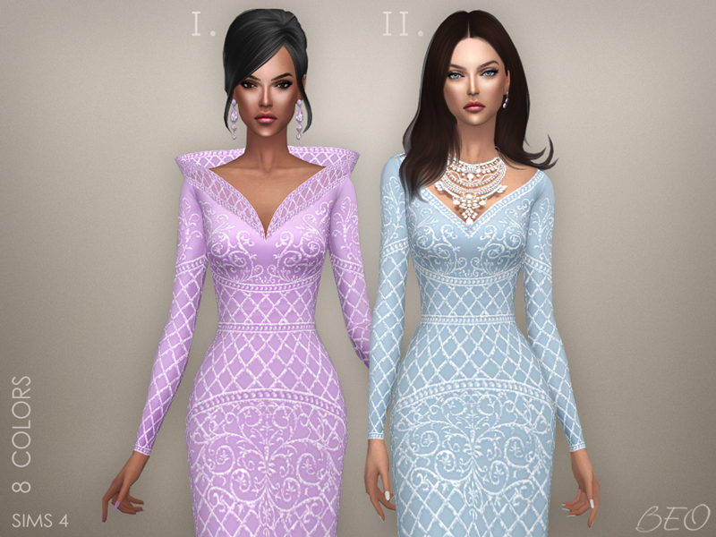 Collection - Ekaterina 2 (not transparent) for The Sims 4 by BEO