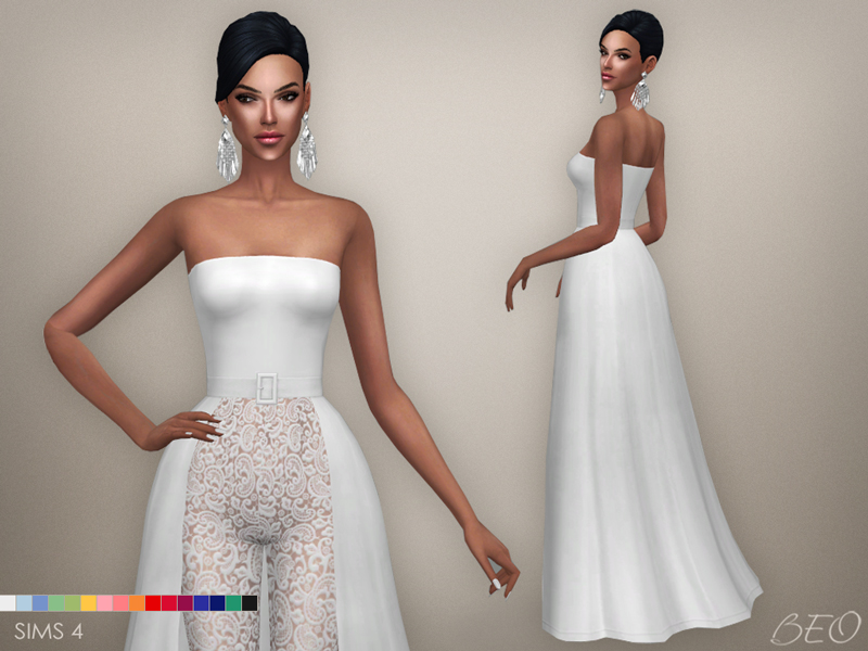 Jumpsuit - Serena for The Sims 4 by BEO (2)